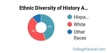 Ethnic Diversity of History Majors at Diablo Valley College