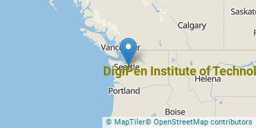 Location of DigiPen Institute of Technology