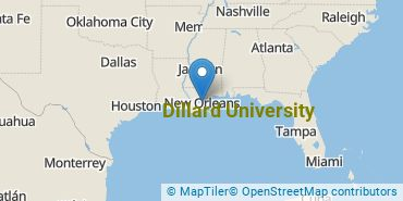 Location of Dillard University