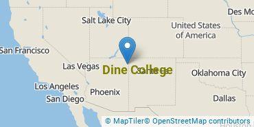 Location of Dine College
