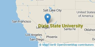 Location of Dixie State University