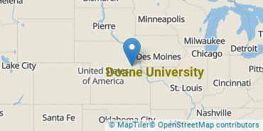 Location of Doane University