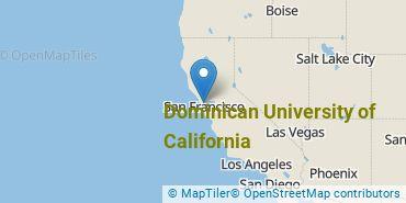Location of Dominican University of California
