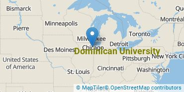 Location of Dominican University