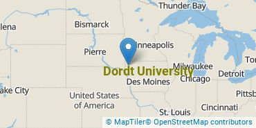 Location of Dordt College