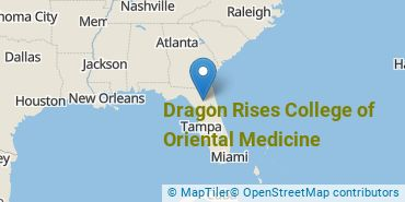 Location of Dragon Rises College of Oriental Medicine