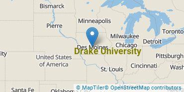 Location of Drake University