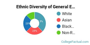 Ethnic Diversity of General Engineering Majors at Drexel University