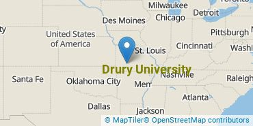 Location of Drury University
