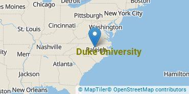 Location of Duke University