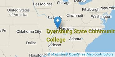 Location of Dyersburg State Community College