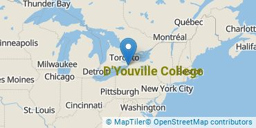 Location of D'Youville College