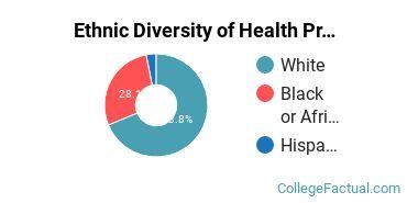 Ethnic Diversity of Health Professions Majors at East Arkansas Community College