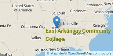 Location of East Arkansas Community College