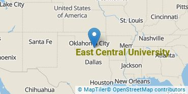 Location of East Central University