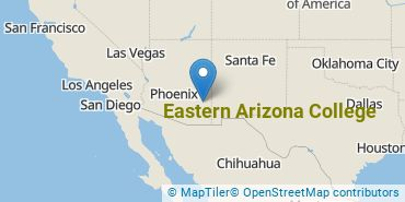 Location of Eastern Arizona College