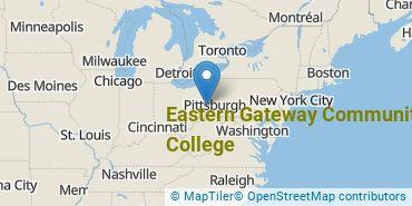 Location of Eastern Gateway Community College
