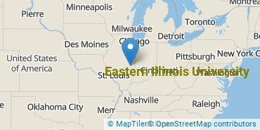 Location of Eastern Illinois University