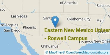 Location of Eastern New Mexico University-Roswell Campus