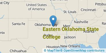 Location of Eastern Oklahoma State College