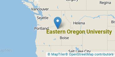 Location of Eastern Oregon University