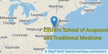 Location of Eastern School of Acupuncture and Traditional Medicine