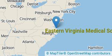 Location of Eastern Virginia Medical School
