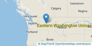 Location of Eastern Washington University