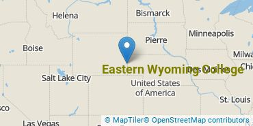 Location of Eastern Wyoming College