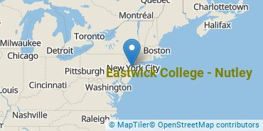 Location of Eastwick College - Nutley