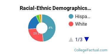 Eastwick College - Nutley Undergraduate Racial-Ethnic Diversity Pie Chart