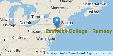Location of Eastwick College-Ramsey