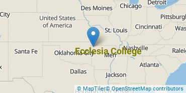 Location of Ecclesia College