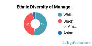 Ethnic Diversity of Management Information Systems Majors at ECPI University