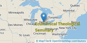 Location of Ecumenical Theological Seminary