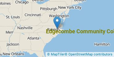 Location of Edgecombe Community College