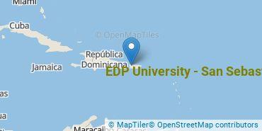 Location of EDP University of Puerto Rico Inc - San Sebastian