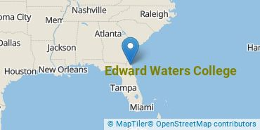 Location of Edward Waters College
