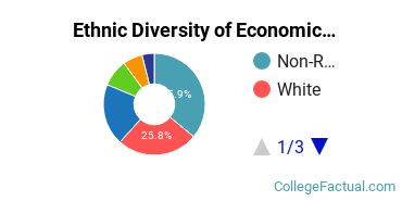 Ethnic Diversity of Economics Majors at Emory University