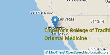 Location of Emperor's College of Traditional Oriental Medicine