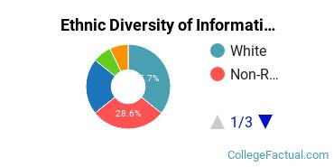 Ethnic Diversity of Information Science Majors at Emporia State University