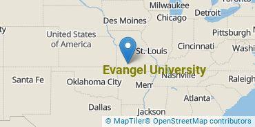 Location of Evangel University