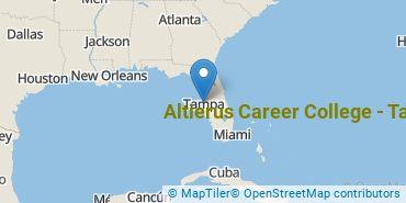 Location of Altierus Career College - Tampa