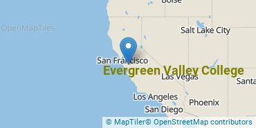 Location of Evergreen Valley College
