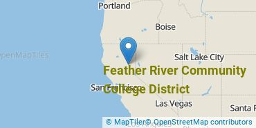 Location of Feather River Community College District