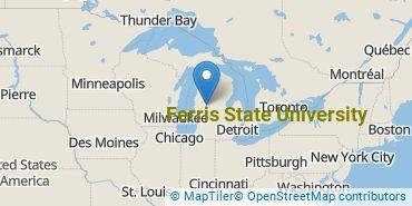 Location of Ferris State University