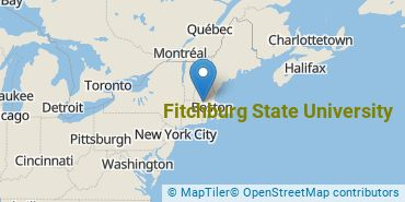 Location of Fitchburg State University