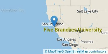 Location of Five Branches University