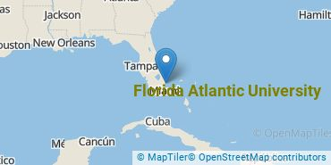 Location of Florida Atlantic University