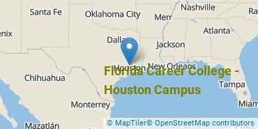 Location of Florida Career College - Houston Campus